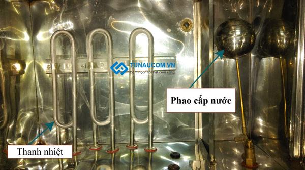 Hệ thống phao cấp nước và thanh nhiệt