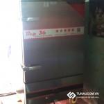 Cung cấp và lắp đặt tủ nấu cơm gas 8 khay cho quán cơm Tuấn Thủy