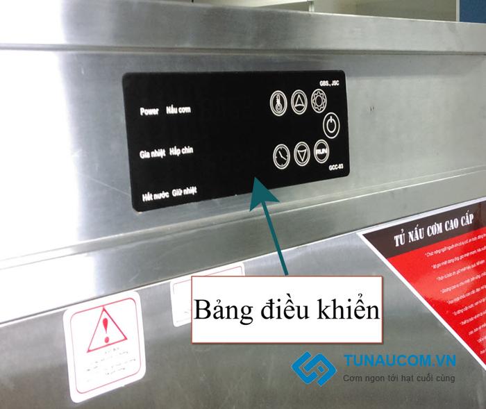 Bản điều khiển tủ cơm
