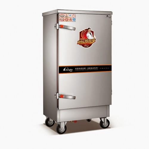 Nhà ăn sinh viên sử dụng tủ nấu cơm bằng gas
