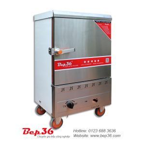Tủ nấu cơm gas 6 khay
