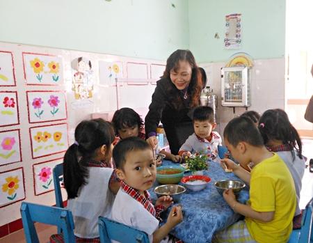 Trường mầm non Ánh Hoa
