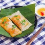 Làm món bánh bột lọc miền Trung bằng tủ nấu cơm