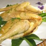 Tinh tế hơn với món gà hấp muối bằng tủ nấu cơm
