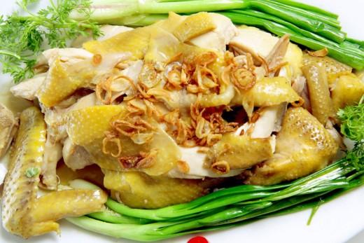 Món gà hấp thơm ngon bổ dưỡng