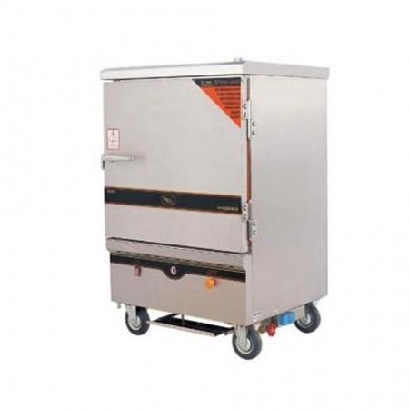 tủ nấu cơm chất liệu inox