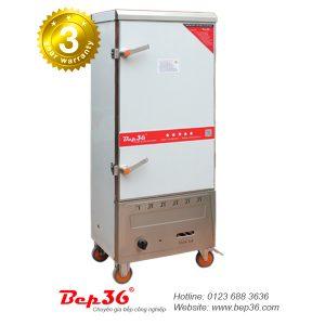 Tủ nấu cơm công nghiệp 12 khay gas