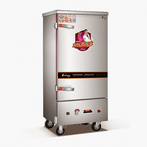 Tủ nấu cơm 12 khay dùng gas JY-ZG-300