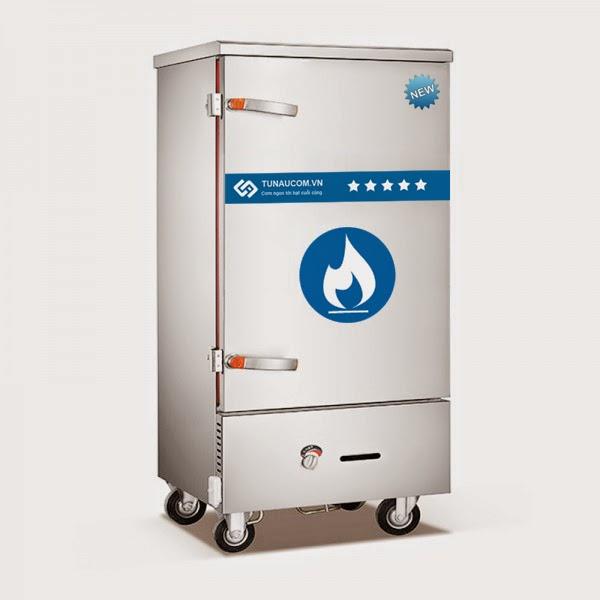 Tủ nấu cơm gas điện 12 khay