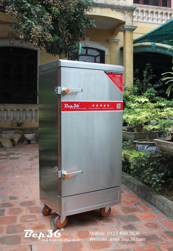 Ảnh thực tế của tủ nấu cơm điện 12 khay