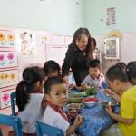 Cung cấp thiết bị bếp công nghiệp cho trường mầm non Ánh Hoa