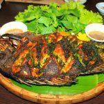 Công thức làm món cá rô hấp lá chuối