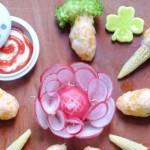 Đổi vị với món tôm bọc rau củ hấp