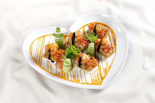 Rong biển hấp tôm mềm thơm, giữ nguyên hương vị cùng tủ nấu cơm