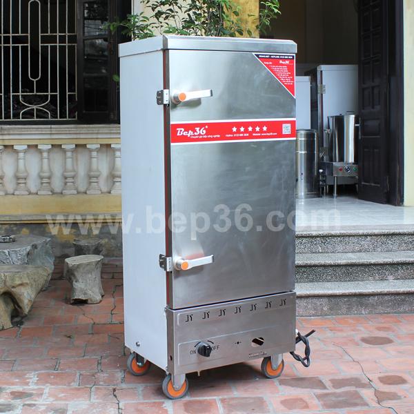Tủ nấu cơm 12 khay gas điện TCGD12 Plus