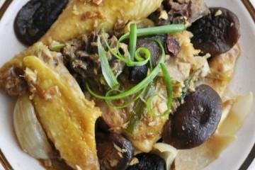 Cách làm món gà hấp gia vị bằng tủ cơm công nghiệp
