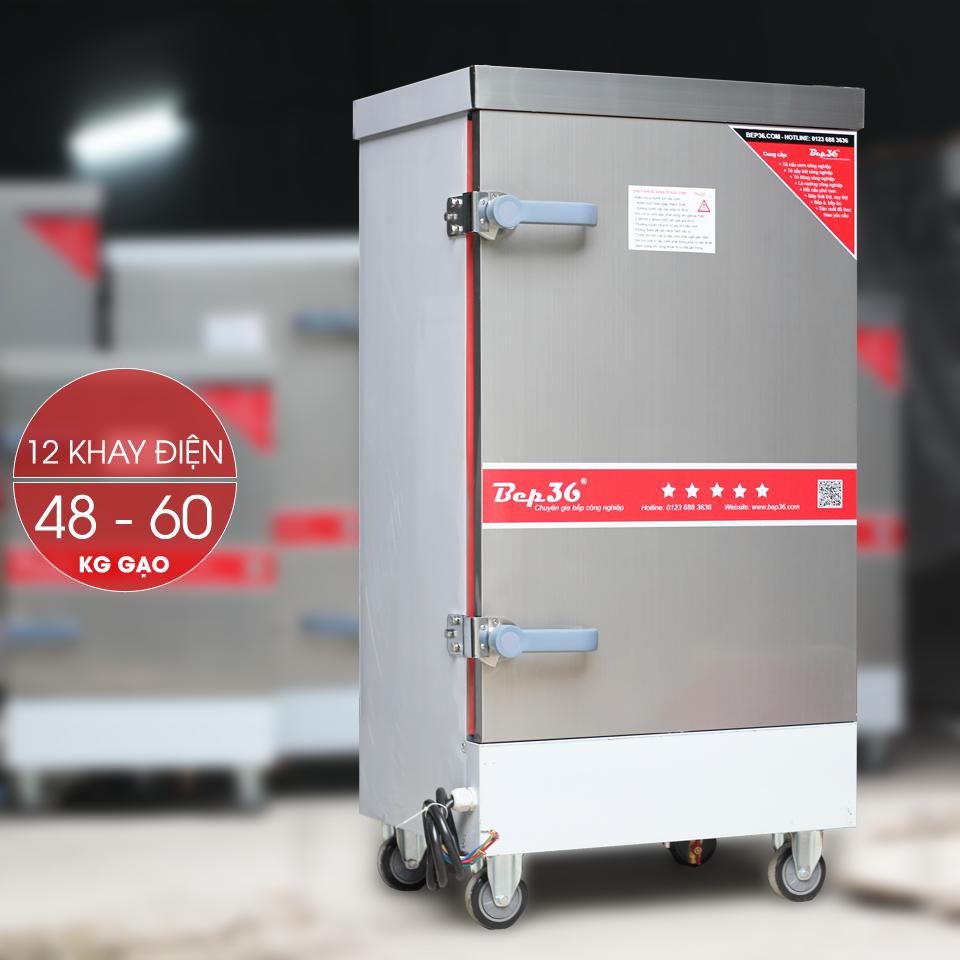 Tủ nấu cơm công nghiệp 12 khay điện TCD12-2018