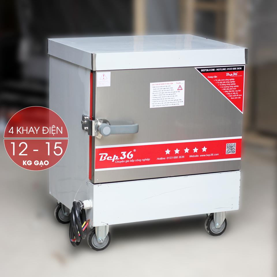 Tủ nấu cơm điện 4 khay TCD4-2018