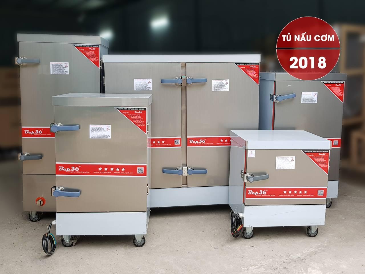 Tủ nấu cơm công nghiệp Bep36, siêu bền, siêu tiết kiệm nhiên liệu