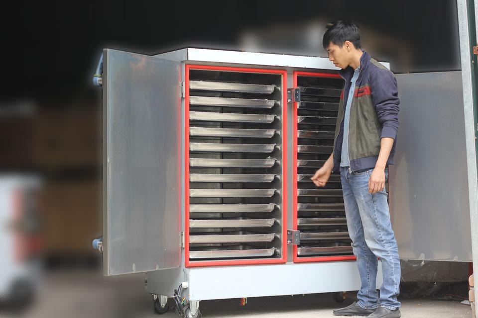 Tổng quan tủ nấu cơm công nghiệp 24 khay dùng điện mới nhất năm 2018