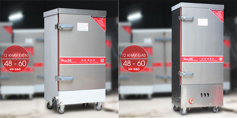 Lựa chọn tủ cơm dùng gas hay dùng điện?