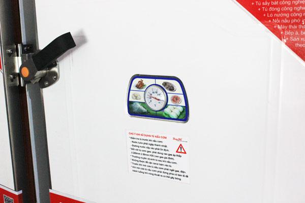 Đồng hồ theo & điều chỉnh nhiệt độ hấp, nấu thực phẩm trên tủ cơm