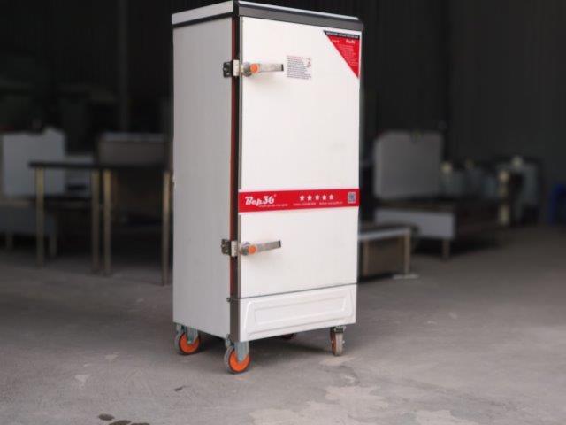 Tủ hấp công nghiệp 12 khay điện, loại được dùng phổ biến nhất hiện nay