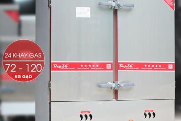 Khám phá cải tiến mới tủ nấu cơm công nghiệp 24 khay của Bep36